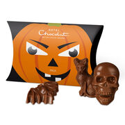 Yikes! Carvin the Pumpkin – Milk Chocolate, , hi-res