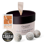 Champagne Chocolate Truffles, Large, hi-res