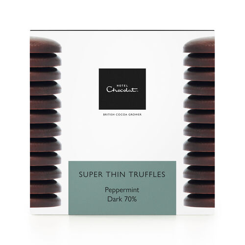 Super Thin Mint Truffles - Dark Chocolate