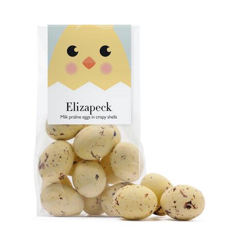 Elizapeck Speckled Mini Eggs, , hi-res