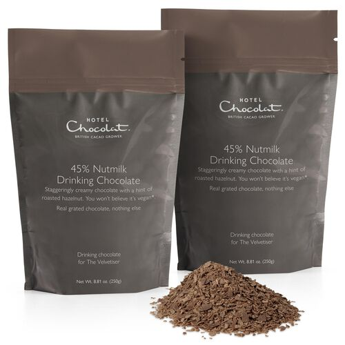 Nutmilk 45% Hot Chocolate Pouches, , hi-res