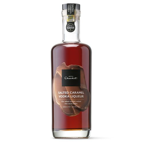 Salted Caramel Cacao Vodka Liqueur 500ml, , hi-res