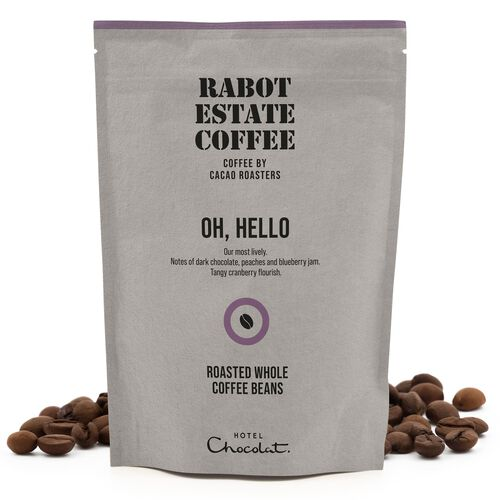 Oh Hello Whole Roasted Coffee Beans 225g, , hi-res