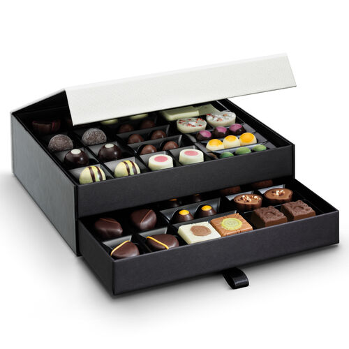 The Classic Chocolate Cabinet