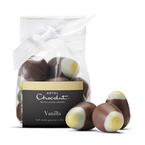 Vanilla Mini Chocolate Eggs Ribbon Bag, , hi-res