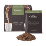 Hazelnut Praline Hot Chocolate Sachets, , hi-res