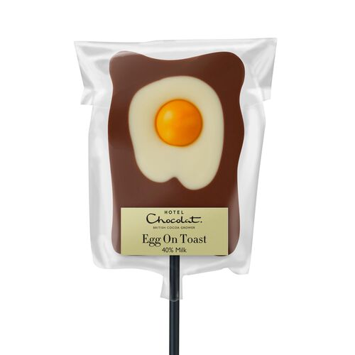 Egg On Toast Milk Chocolate Lick - Easter Lolly, , hi-res