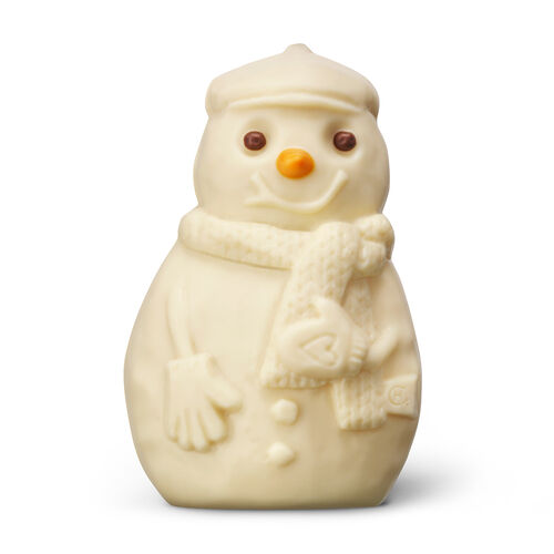 Jolly White Chocolate Snowman, , hi-res