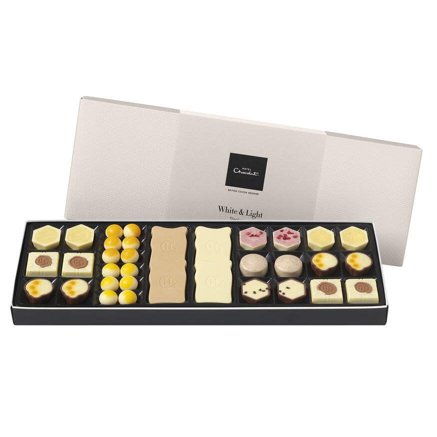 White Chocolate Box Sleekster, , hi-res