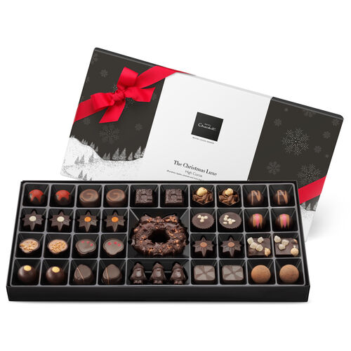 The Christmas Luxe – Dark Chocolate, , hi-res