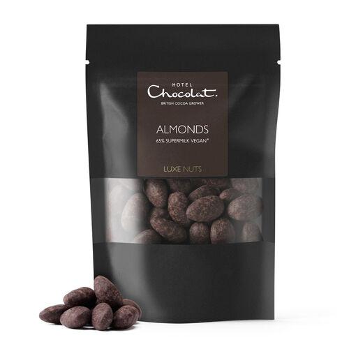 65% Supermilk Vegan* Chocolate Covered Almonds, , hi-res