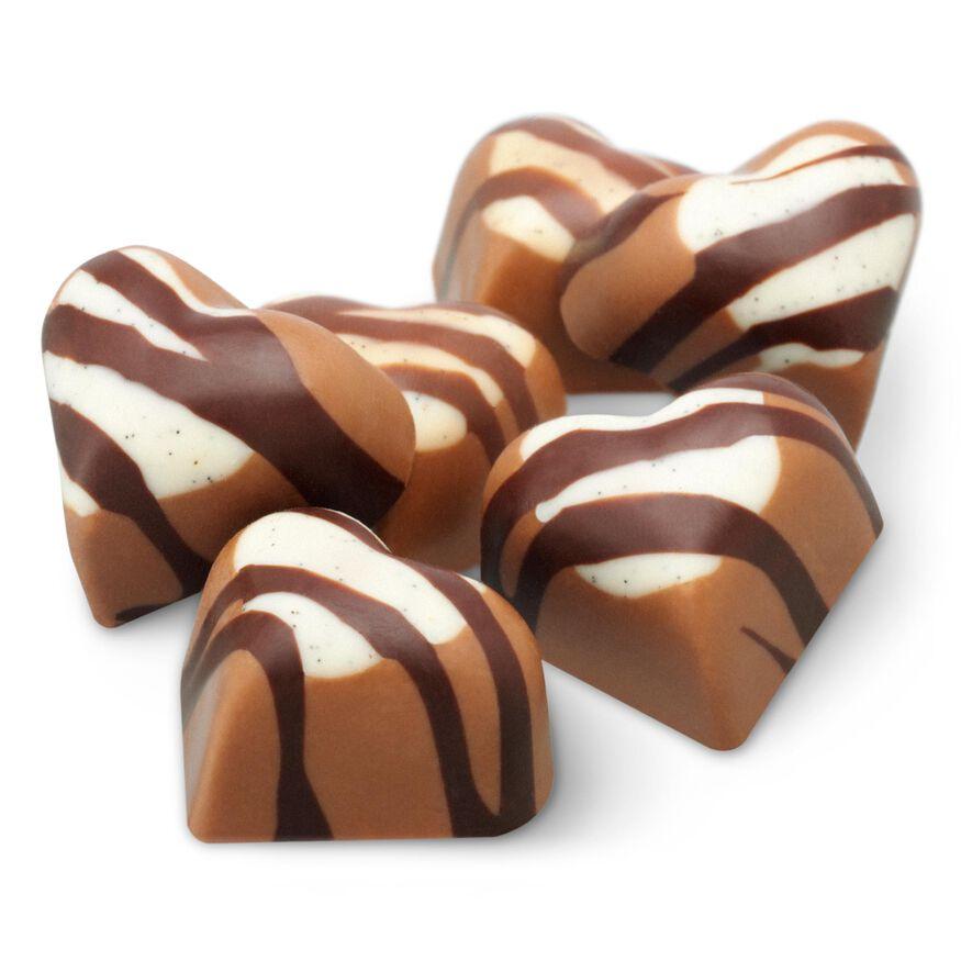 Salted Caramel Chocolate Hearts Kiss Selector, , hi-res