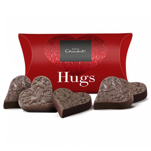 Hugs – Milk Chocolate Hearts , , hi-res