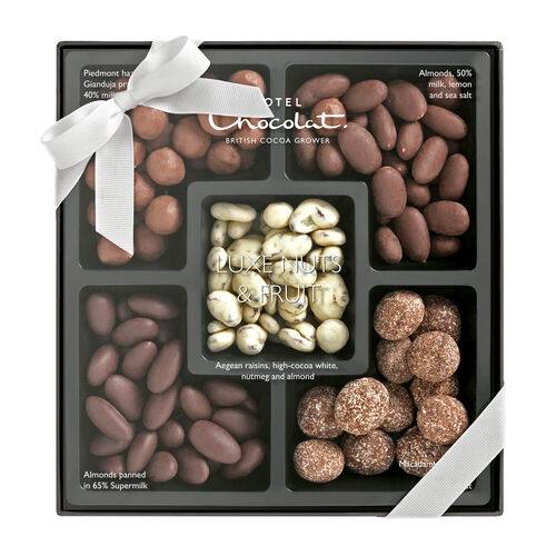 Luxe Nuts Selection Gift Box, , hi-res