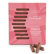 Caramel Milk Chocolate Batons, , hi-res