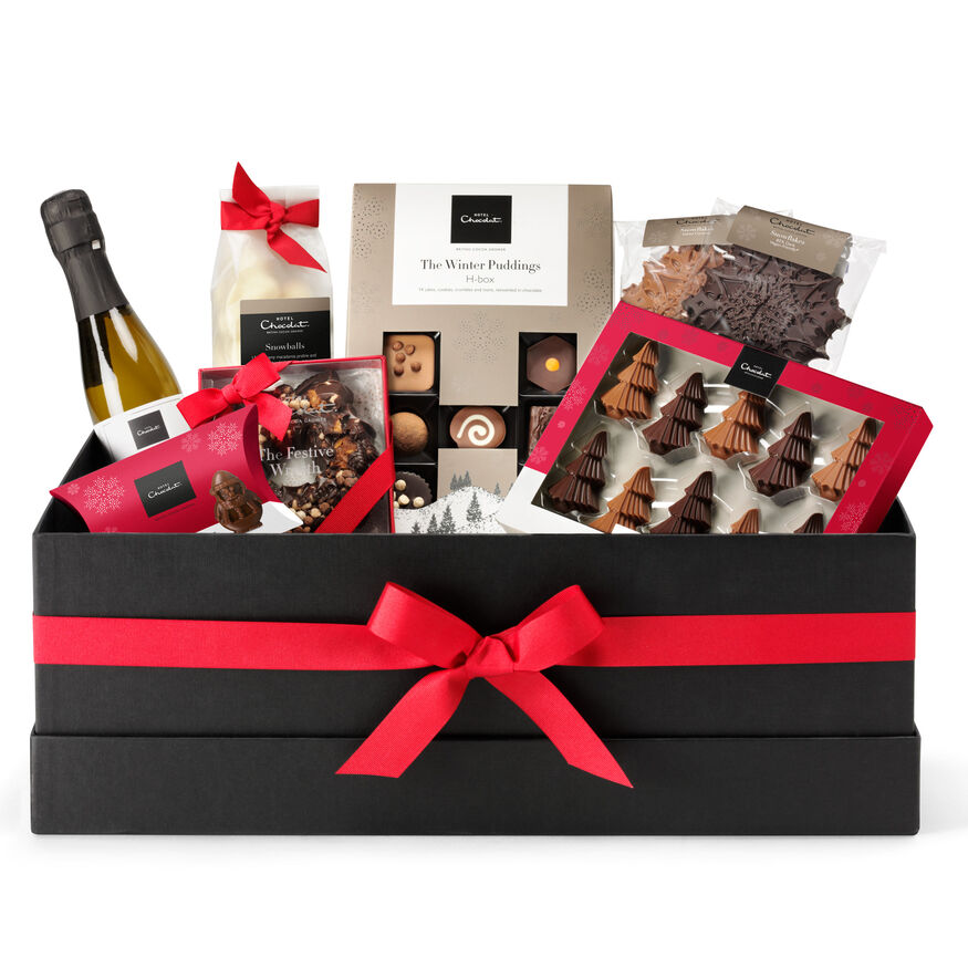 Family Sized Christmas Hamper Perfect For Christmas Hotel Chocolat
