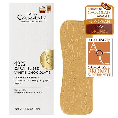 Dominican Republic 42% White Chocolate, , hi-res