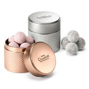 Pink & Classic Champagne Truffles Tin , , hi-res