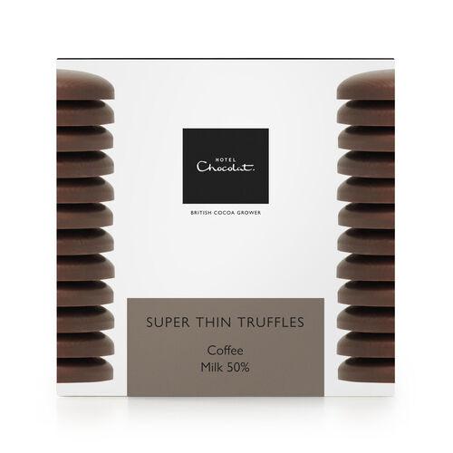 Super Thin Coffee Truffles – Milk Chocolate, , hi-res