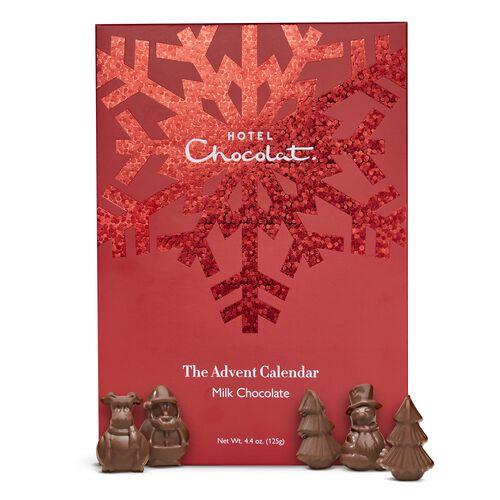Milk Chocolate Advent Calendar , , hi-res
