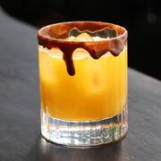 Spooky Salted Caramel Vodka Cocktail, , hi-res