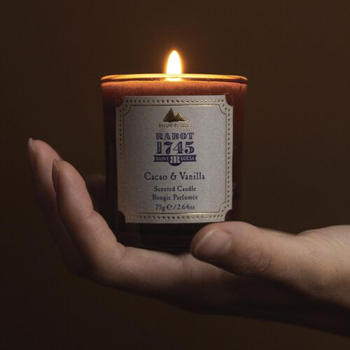 Cacao & Vanilla Votive Candle 75g, , hi-res