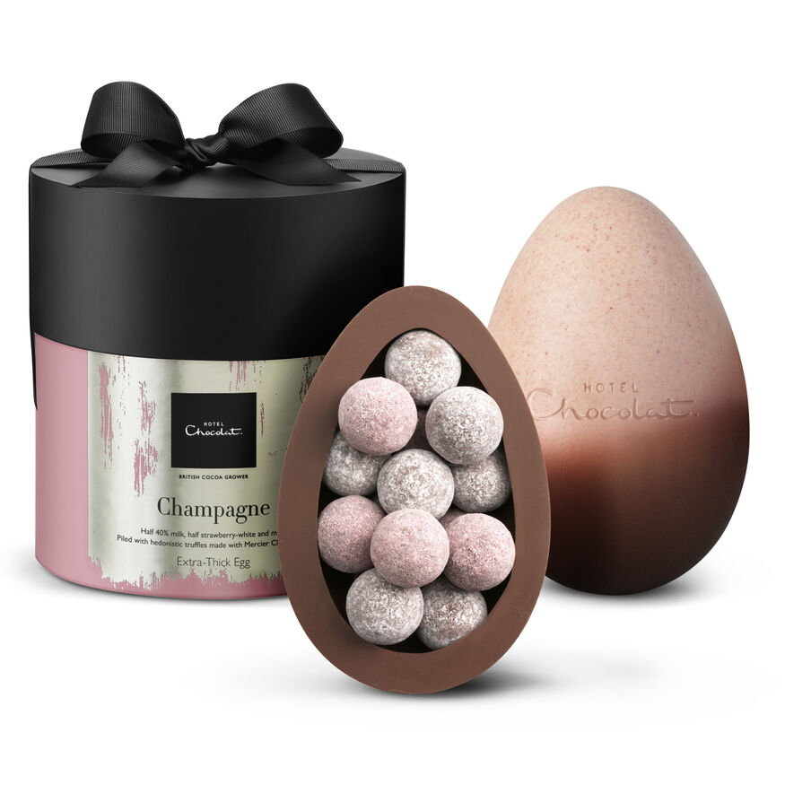 Extra-Thick Easter Egg – Champagne , , hi-res