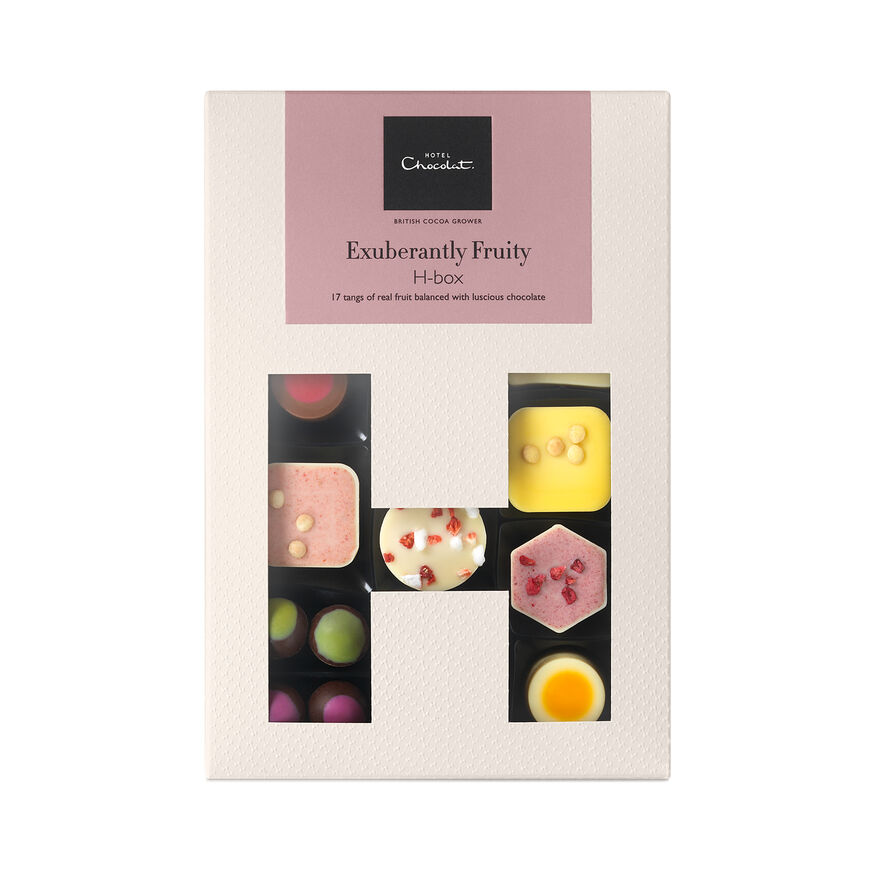 The Exuberantly Fruity  Chocolate H-Box, , hi-res