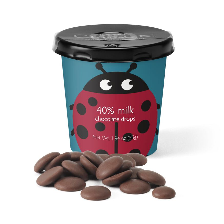 Summer Tiddly Pot - 40% Milk Chocolate, , hi-res