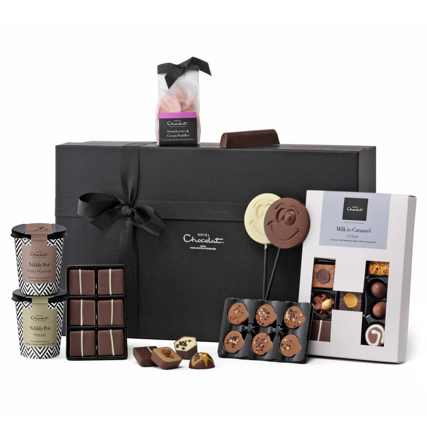 Luxury Chocolate Family Hamper From Hotel Chocolat