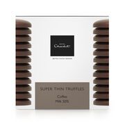 Super Thin Coffee Truffles – Milk Chocolate, , hi-res