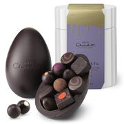 Extra-Thick Easter Egg - Seriously Dark Chocolate, , hi-res