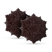 Dark Chocolate Snowflakes, , hi-res