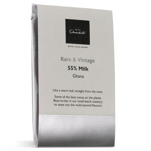 55% Milk Ghana Chocolate – Rare & Vintage Selector, , hi-res