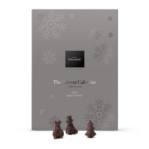 Table Calendar 2018 : The dark chocolate advent calendar vegan friendly