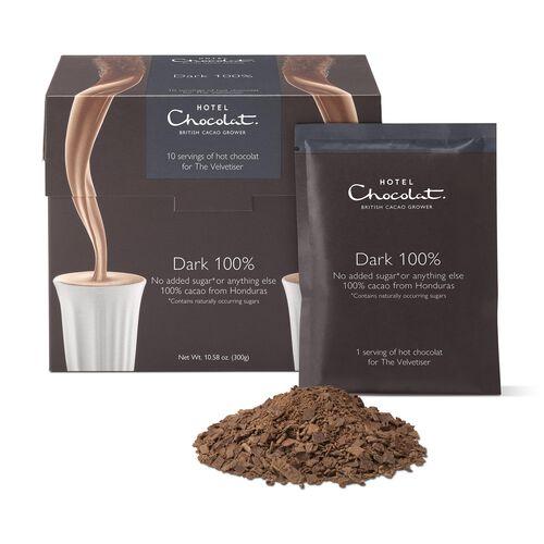 100% Dark Hot Chocolat Sachets