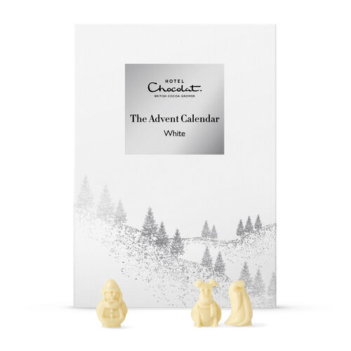 The White Chocolate Advent Calendar Hotel Chocolat