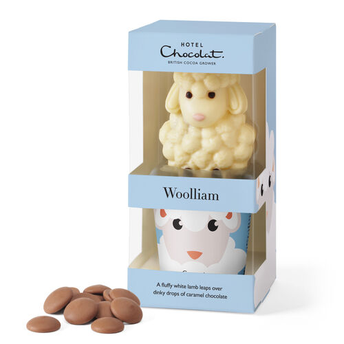 Wooliam – White Chocolate Sheep, , hi-res
