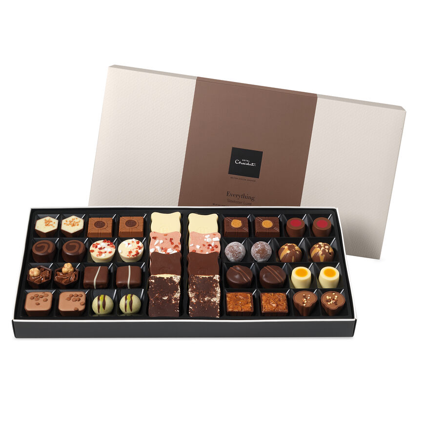 The Everything Deluxe Chocolate Box By Hotel Chocolat