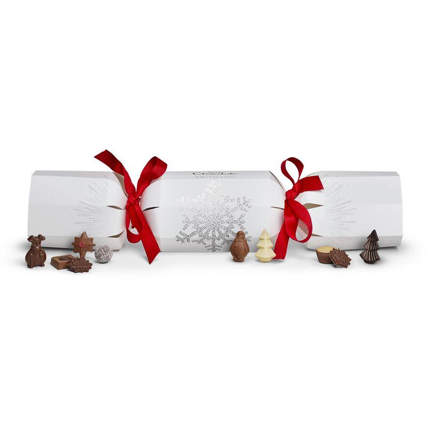 Rather Large Chocolate Christmas Cracker , , hi-res