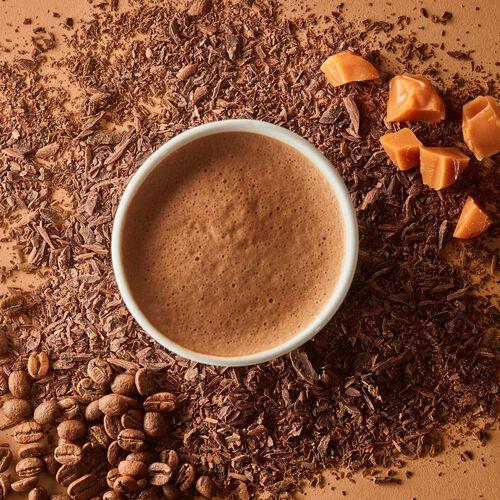 Caramel Latte Hot Chocolate – Single-Serves, , hi-res