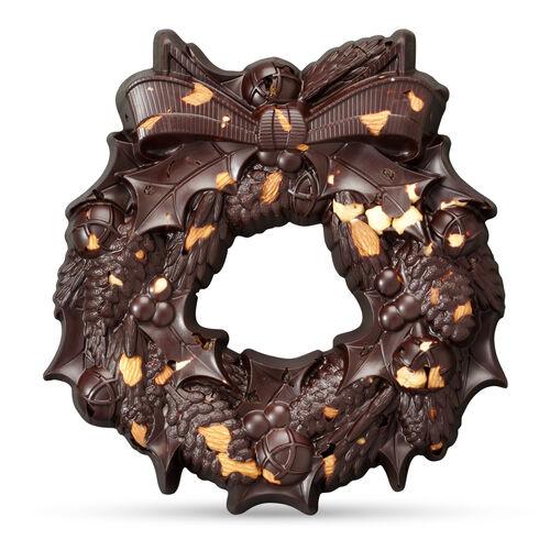 The Large Chocolate Christmas Wreath – Rare & Vintage, , hi-res