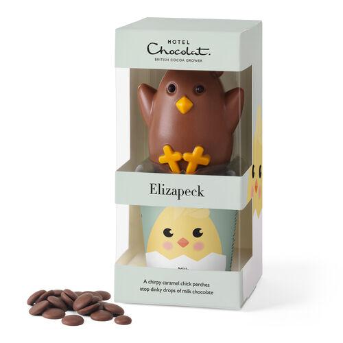 Elizapeck – Caramel-milk Chocolate Chick, , hi-res