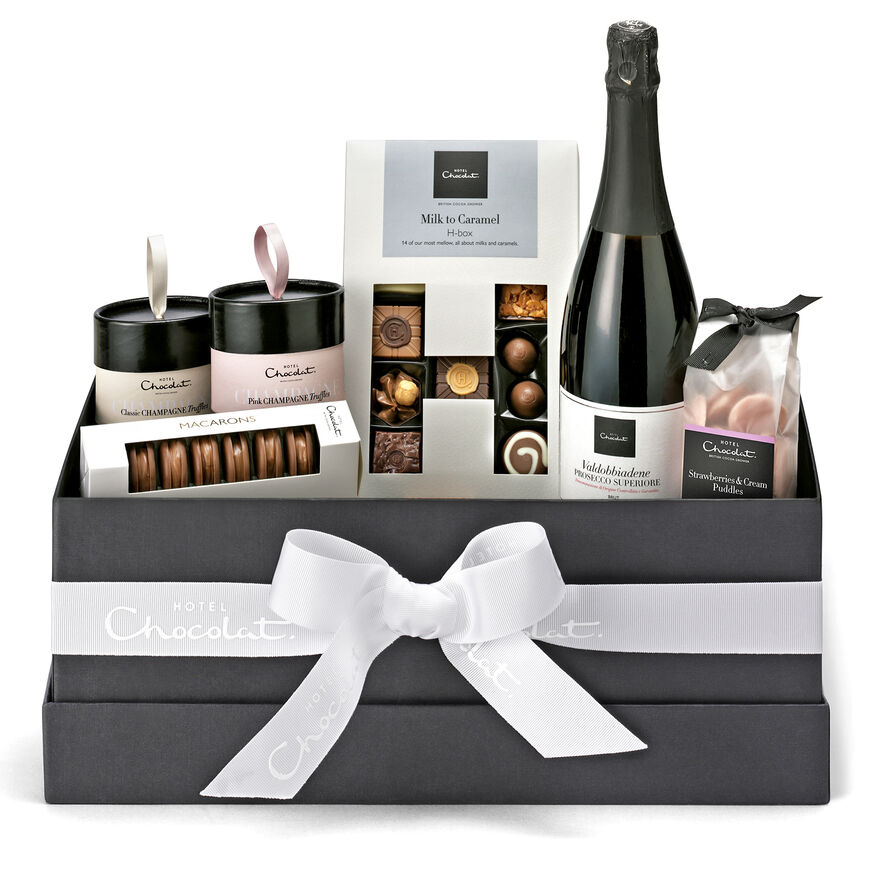 The Chocolate and Prosecco Hamper, , hi-res