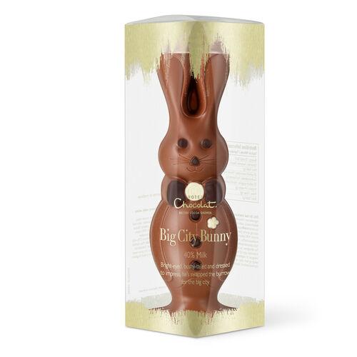 Big City Milk Chocolate Easter Bunny , , hi-res