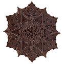 85% Dark Snowflake