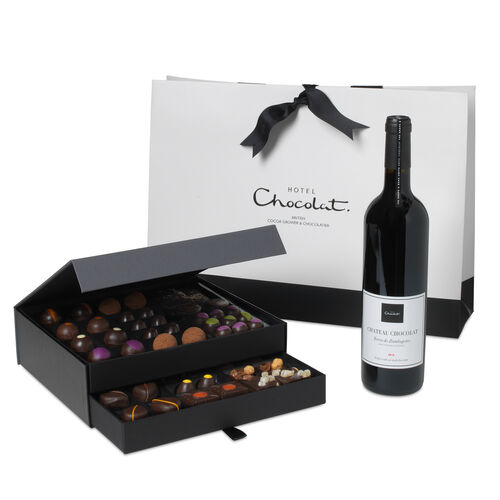 The Dark Chocolate Cabinet with Red Wine