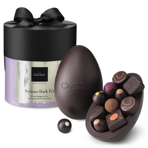 Dark Chocolate Easter Egg - Extra Thick, , hi-res