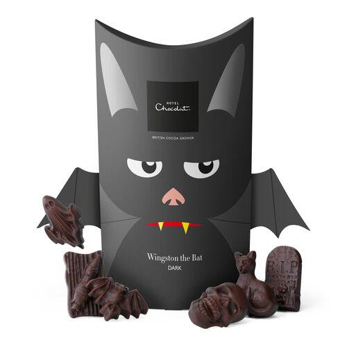 Wingston the Bat – Dark Chocolate, , hi-res
