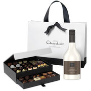 The Classic Chocolate Cabinet with Chocolat Cream Liqueur, , hi-res